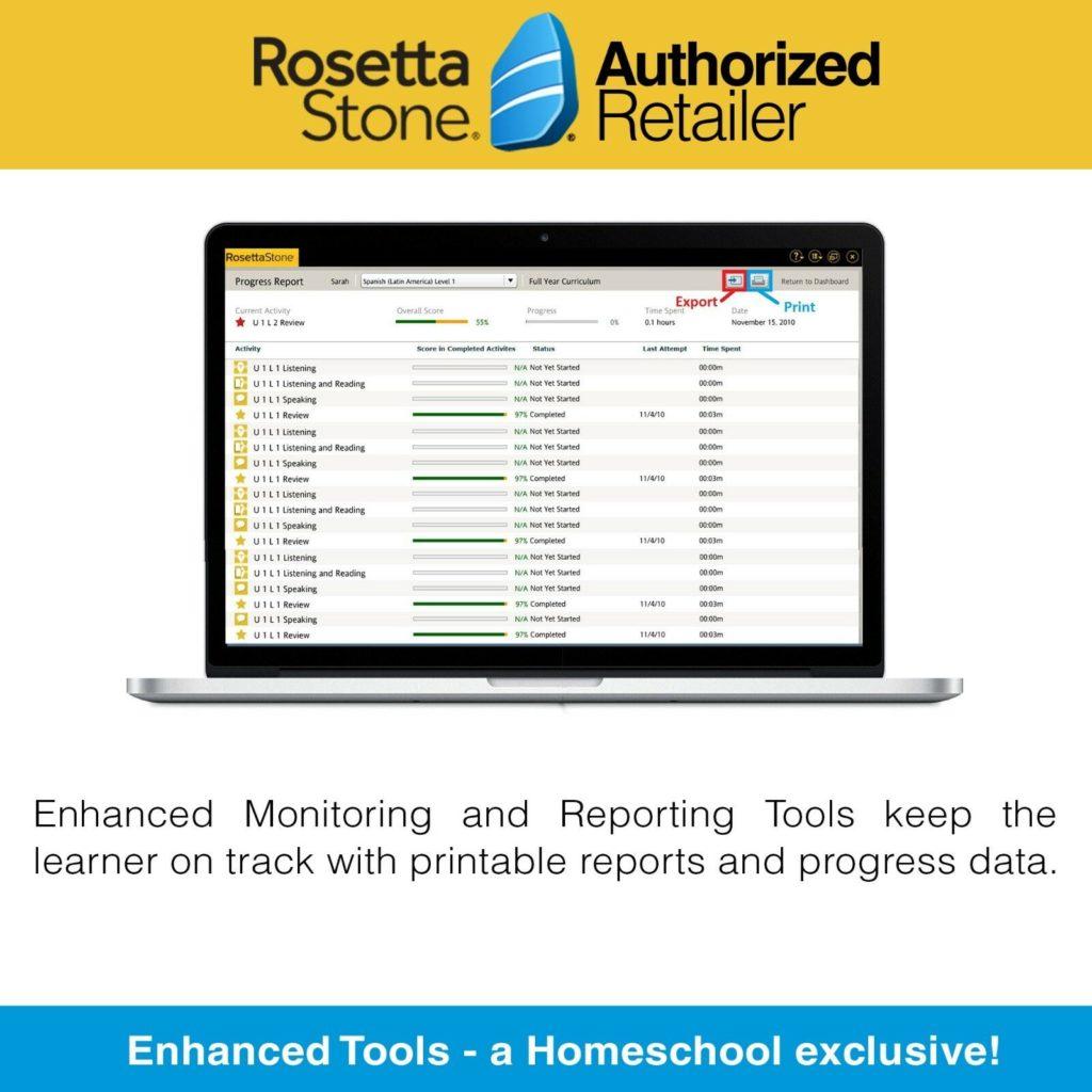 Rosetta Stone – Lifetime account license per language – Your