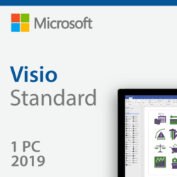 Microsoft Visio Standard 2019 - Authentic License Key - AU Stock