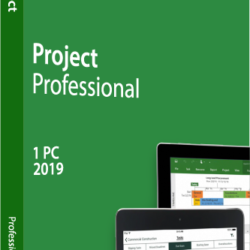 Microsoft Project Pro 2019 - Authentic License Key - AU Stock