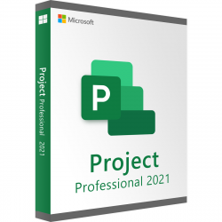 Microsoft Project Professional 2021 - Authentic License Key